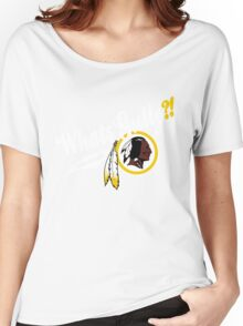 Whats gully? (REDSKINS)  Women's Relaxed Fit T-Shirt