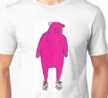 Bear on Wheel Unisex T-Shirt
