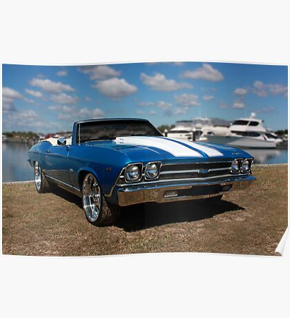 SS Chevelle Convertible Poster