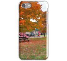 Autumn Playground iPhone Case/Skin