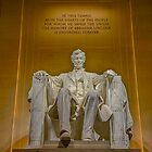 Abraham Lincoln Memorial by Ray Warren