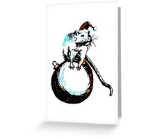 Santy Claws Greeting Card