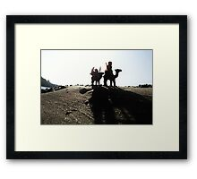 Almost there... Framed Print