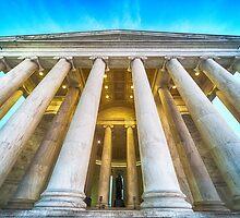 Jefferson Memorial by Ray Warren