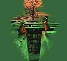 Concrete maze by Budi Satria Kwan