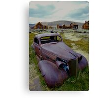Old Chevy in Bodie, California Canvas Print