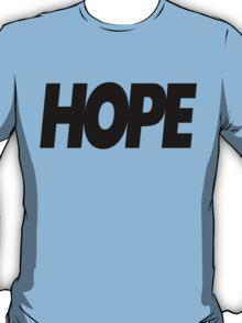 Hope Logo Black Ink | Hope4Pope.org T-Shirt