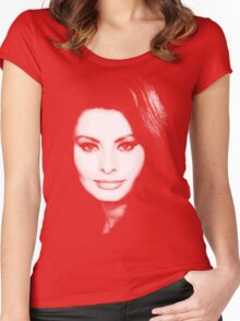 belle sofia Women's Fitted Scoop T-Shirt
