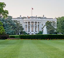 The White House by Ray Warren