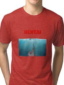Hentai tentacles Tri-blend T-Shirt