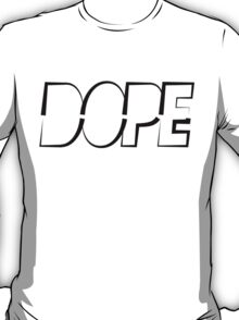Dope Double Triangle Black Ink | Hope4Pope.org T-Shirt