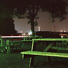 san antonio cityscape  by Jason  Solano