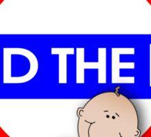 Mind The Baby Sticker
