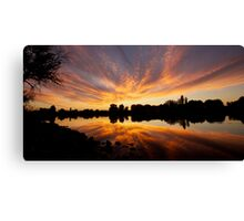 Hogback Sunset Canvas Print
