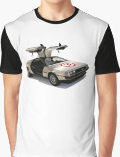 number 3 delorean Graphic T-Shirt