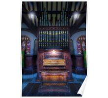 Dream Mirror Organ Poster