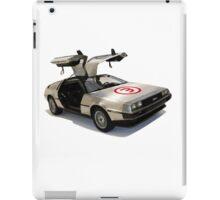 number 3 delorean iPad Case/Skin