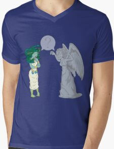 Medusa VS Angel Mens V-Neck T-Shirt