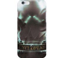 Cyclopean iPhone iPhone Case/Skin