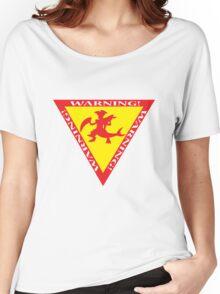 Mega Garchomp Warning Women's Relaxed Fit T-Shirt