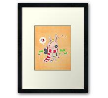 Bunny boy Framed Print