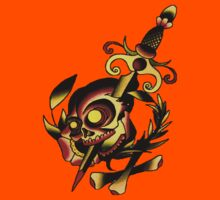 Dagger Skull Flash by apocalypsebob