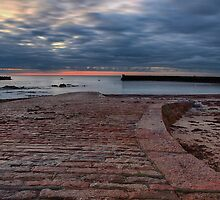 La Rocque Harbour by Mark Bowden