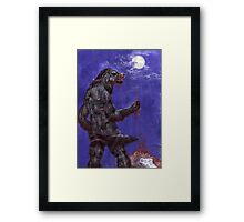 Metis - blood and moon Framed Print