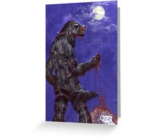 Metis - blood and moon Greeting Card