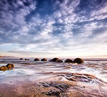 Moeraki Boulders by ChrisMcKay