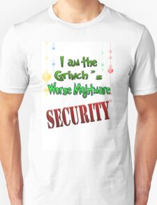 Holiday Grinch's Beware Unisex T-Shirt