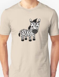 My Day at the Zoo - Zebra Unisex T-Shirt