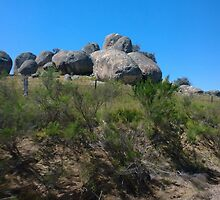 Rock formations by judygal