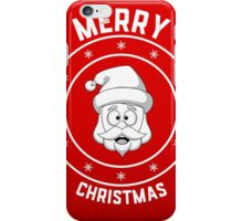 Santa's Merry Christmas Logo iPhone Case/Skin