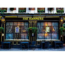 The Hammers Pub Photographic Print