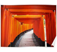 Fushimi Inari - Torii Gates Poster
