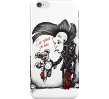 Pinky with his teddy bear 2015 iPhone Case/Skin