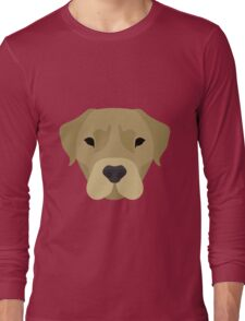 Golden Labrador  Long Sleeve T-Shirt