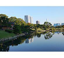 Hamarikyu - Reflections in Tokyo Photographic Print
