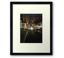 Light Games Framed Print