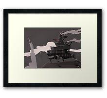 Surveillance Mech Framed Print