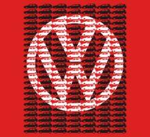 VW Golf White Golf Logo with Black Golf Mk1-Mk7 by reujken