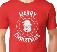 Santa's Merry Christmas Logo Unisex T-Shirt