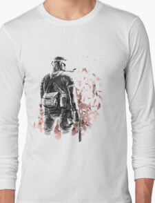 Big Boss /Sketched Long Sleeve T-Shirt