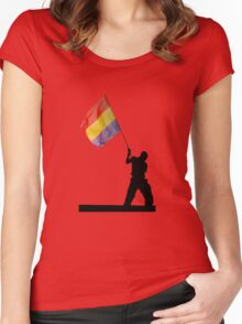 Republica Women's Fitted Scoop T-Shirt