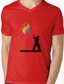 Republica Mens V-Neck T-Shirt