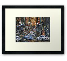 Rush Hour II Framed Print