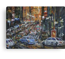 Rush Hour II Canvas Print
