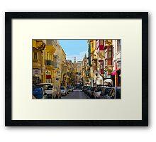 Malta 25 Framed Print