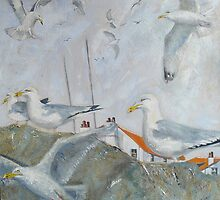 Gulls Galore! by Sue Nichol